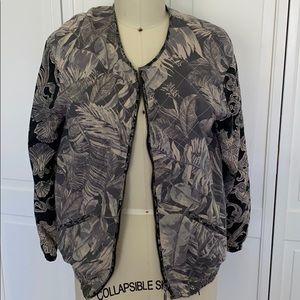 H&M Lightweight Printed Bomber Jacket